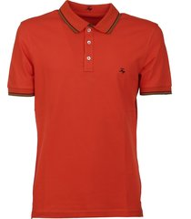 fay logo embroidered polo shirt