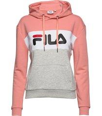lori hoodie sweat hoodie trui roze fila
