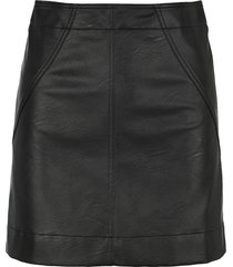 philosophy eco leather mini skirt