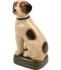 escultura decorativa de porcelana cachorro chiot
