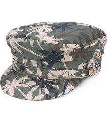 manokhi x toukitsou greek fisherman hat - green