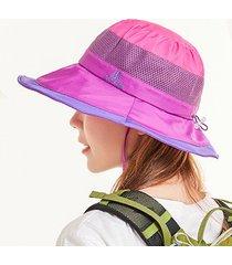 cappellino da pescatore a rete traspirante con protezione solare da uomo