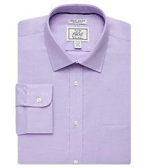 1905 collection extreme slim fit twill dress shirt - big & tall clearance, by jos. a. bank