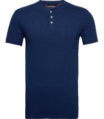 heritage ss grandad t-shirts short-sleeved blå superdry