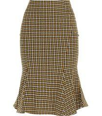 marni midi skirt with godet bottom