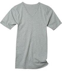 dubbelpak v-shirts, grijs-gemêleerd 6