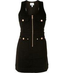 alice mccall club noir mini dress - black