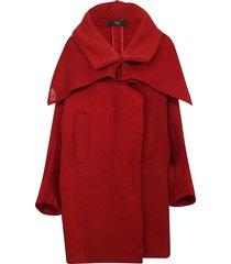 ys oversized cape coat