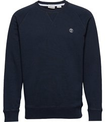 e-r basic regular crew sweat-shirt tröja blå timberland