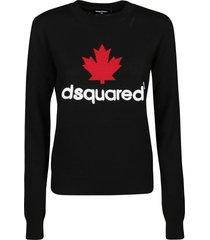 dsquared2 mini d2leaf sweater