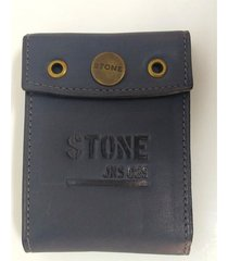 billetera azul stone