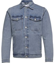 slhmatt 4032 light blue denim jacket u jeansjack denimjack blauw selected homme