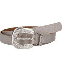 cinturón cuero variedad texturas y colores beige