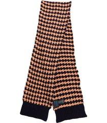 raf simons purple scarf