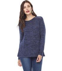 sweater camant mujer navy corona