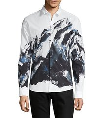extra slim-fit graphic shirt