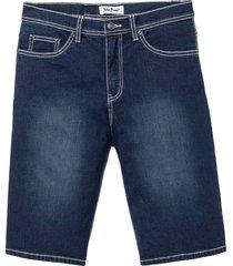 bermuda in jeans softstretch regular fit (blu) - john baner jeanswear