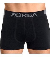 cueca boxer zorba seamless extreme 836 - t. p/gg preto