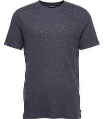 como neps t-shirt t-shirts short-sleeved blå j. lindeberg