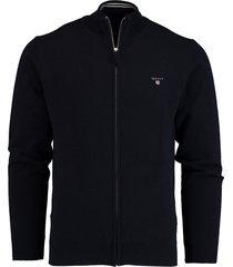 gant vest donkerblauw lamswol rf 86214/410