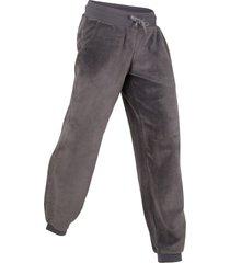 pantaloni lunghi in pile livello 1 (grigio) - bpc bonprix collection