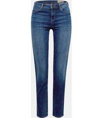 jeans straight medium rise denim esprit