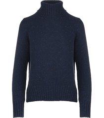 navy blue woman derby iside sweater