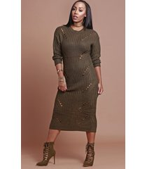 winter love sweater dress