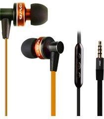 audífonos bluetooth manos libres inalámbricos, auriculares awei 90vi con mic micphone auriculares con cancelación de ruido (naranja)