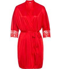 kimono in satin (rosso) - bodyflirt