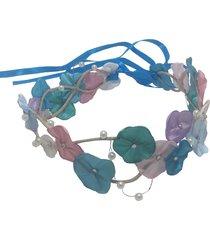 headband fuxicos e frescuras coroa de fada colorida