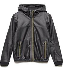 jtech overcoat outerwear jackets & coats windbreaker zwart diesel