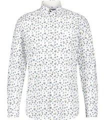 hemd state of art wit met opdruk