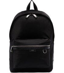 boss meridian zip-up backpack - black