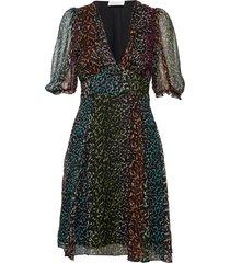 brave short dress jurk knielengte multi/patroon storm & marie