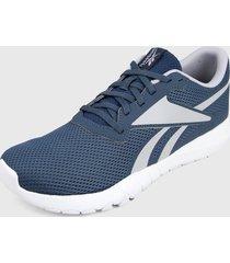 tenis training azul-gris-blanco  reebok flexagon energy tr 3