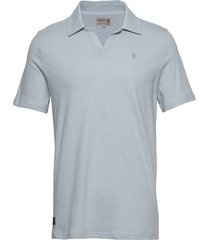 delon jersey shirt polos short-sleeved blauw morris