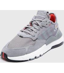 zapatilla nite jogger gris adidas originals