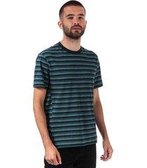 mens motion stripped cotton pique t-shirt