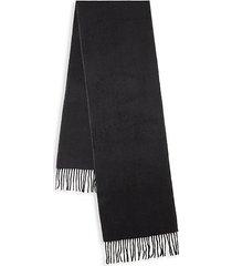 herringbone cashmere scarf