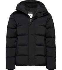 barrell stretch down jacket fodrad jacka svart j. lindeberg