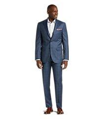 traveler collection slim fit plaid men's suit by jos. a. bank