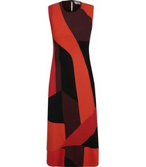 sleeveless slim dress