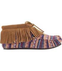 lamo women's ava moccasin booties women's shoes