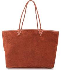 altuzarra reversible leather tote bag - brown