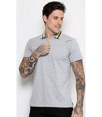 camisa polo camaro race masculina