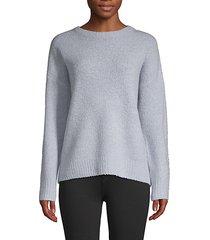 textured skull-print sweater