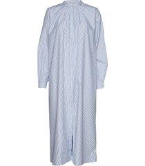 billy dress maxi dress galajurk blauw nué notes