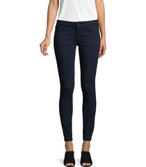 dl1961 premium denim women's emma stretch skinny jeans - flatiron - size 24 (0)