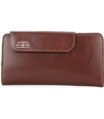as2ov mobile long wallet - brown